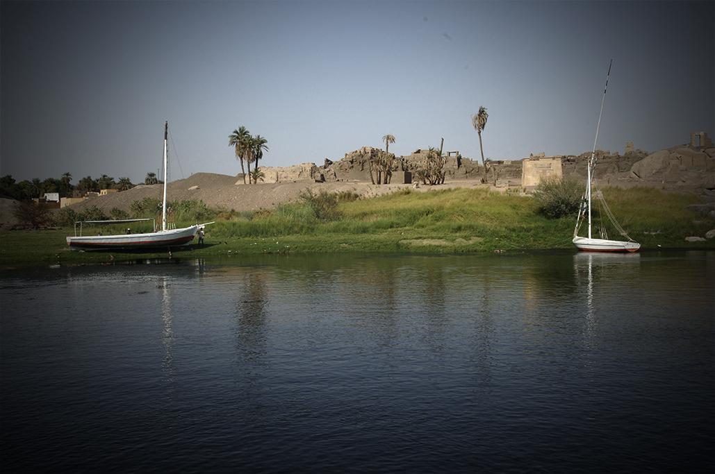 egipto nilo faluca2