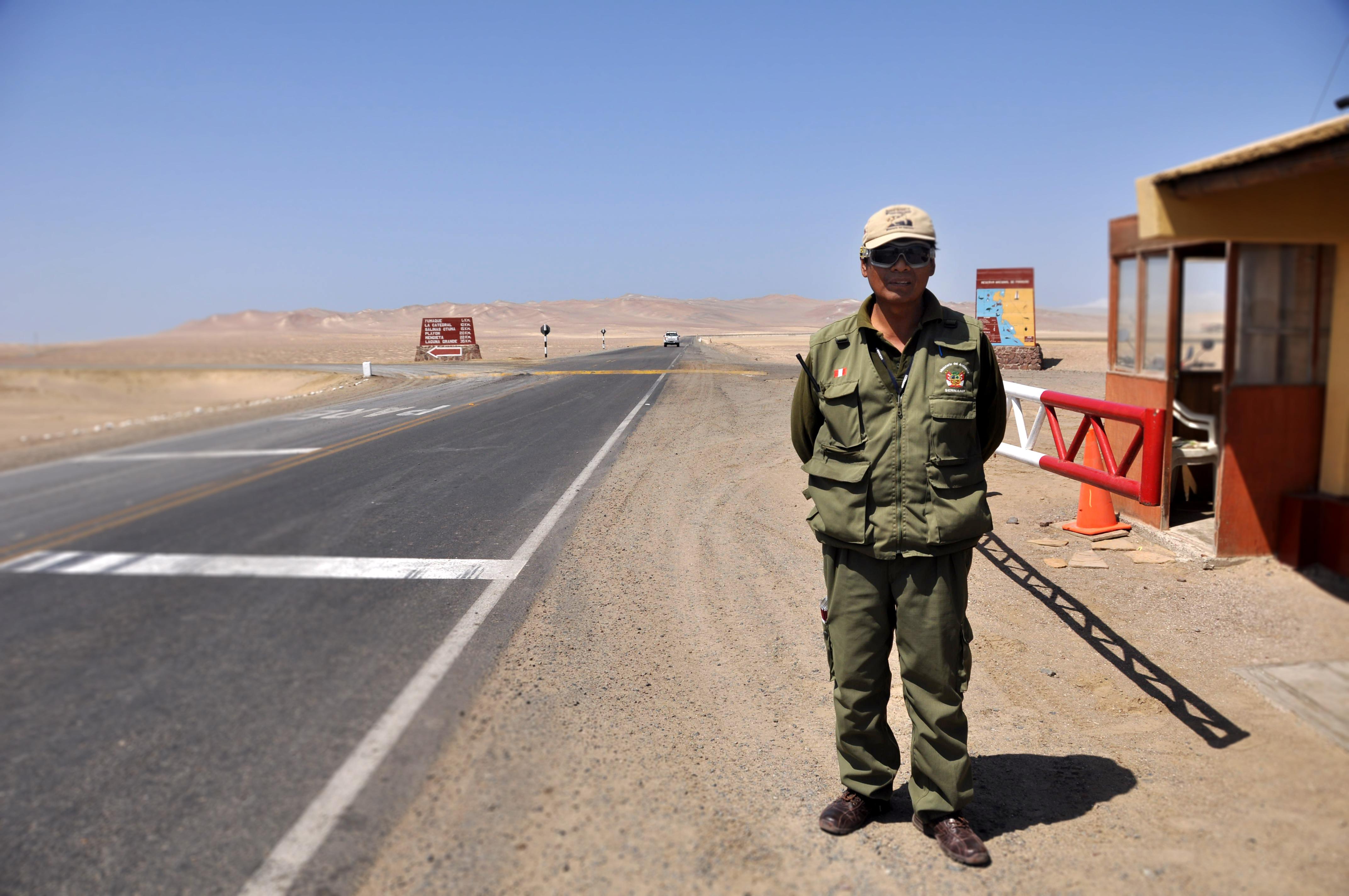 Reserva nacional de Paracas en Perú. Sonsoles Lozano