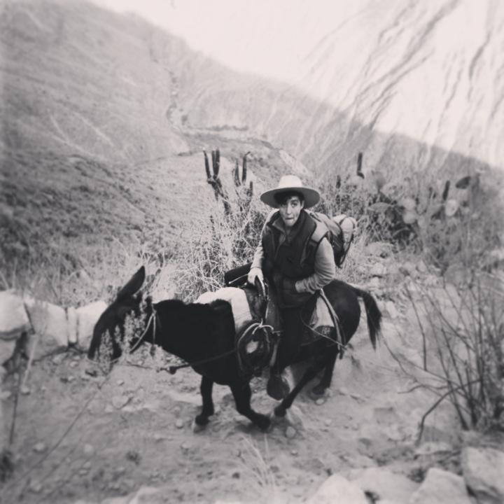 Sonsoles Lozano- Viajd Viajad malditos- Peru- Cañón Colca- Oasis Sangalle- Cabanaconde