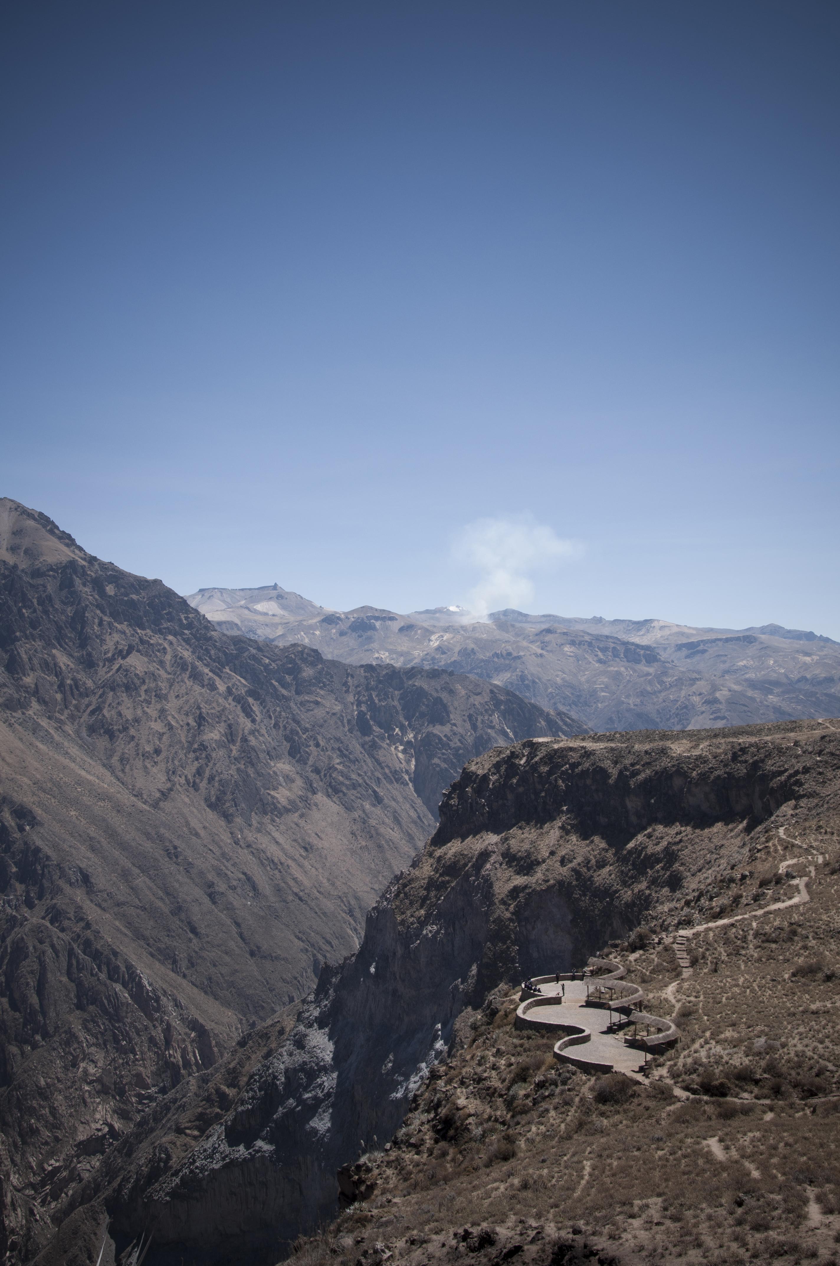 Peru 2013 Cañon del Colca Mirador del condor2