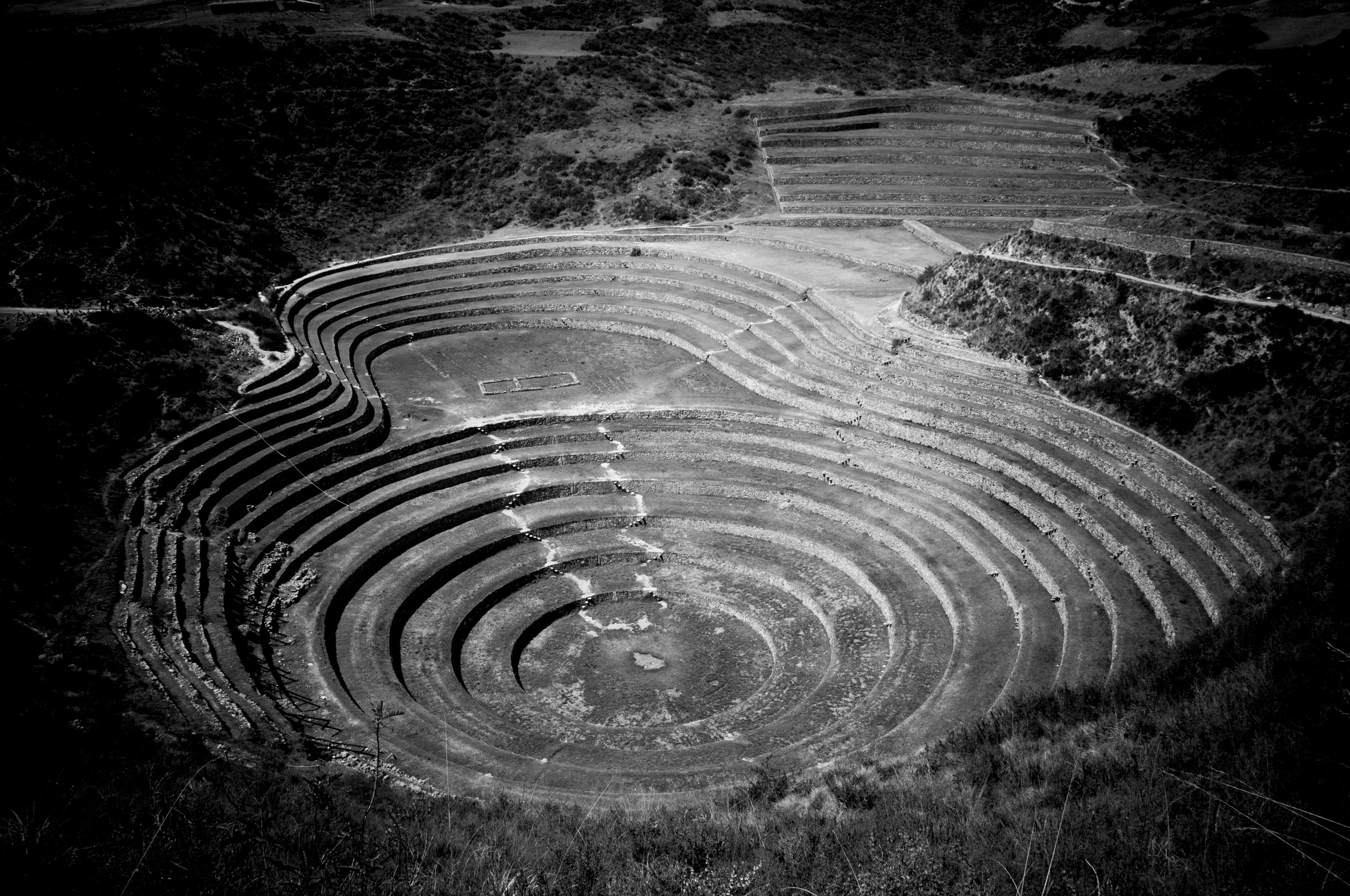 Peru 2013_ Valle Sagrado_ Maras Morai1 BN
