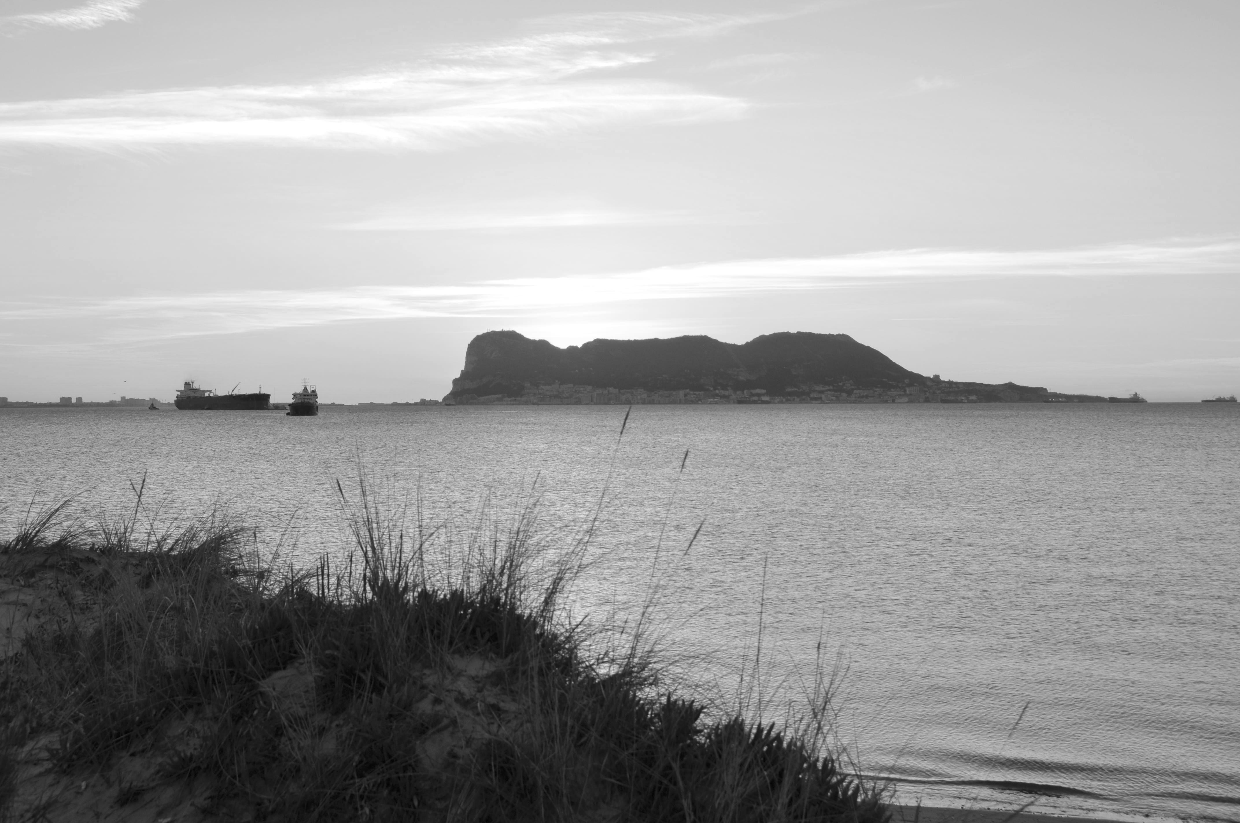 Gibraltar desde Algeciras