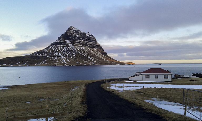 Islandia Snaefellsnes Peninsula_ Kirkjufell( Eclipse)2