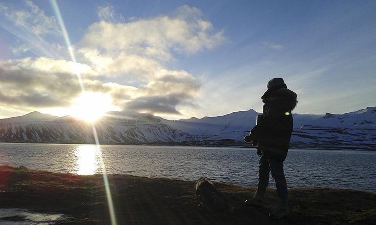 Islandia Snaefellsnes Peninsula_ Kirkjufell( Eclipse)3